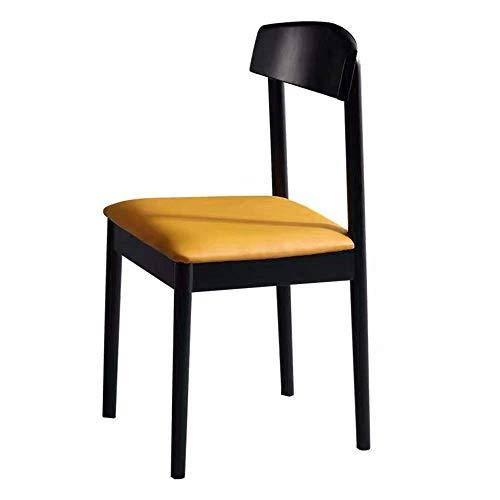 CENPEN Sillas de comedor modernas de mediados de siglo para muebles de descanso, rectangulares, modernas sillas de cocina (color, tamaño: 55 x 45 x 80 cm)