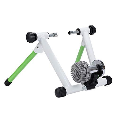 Rodillo bicicleta, entrenador de bicicleta inteligente para interiores con Bluetooth y ANT...