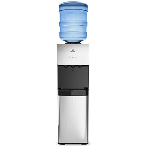 Avalon A10 Top Loading Water Cooler Dispenser, 3 Temperature, Child Safety Lock, UL/Energy Star- Stainless Steel
