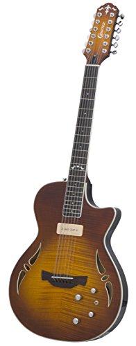 Crafter SAT-12 TMVS - Guitarra acústica con cuerdas metálicas (12 cuerdas)