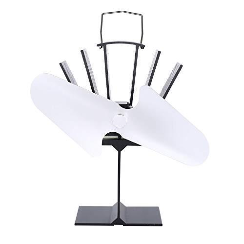 jichui23894 2 Blades Heizleistung Herd Okologisches Ventilator Kamin Spritsparherd Fan