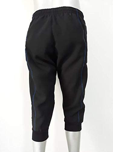 walter Pantalone da Portiere 3//4 Modello hydron Colore Nero//Azzurro