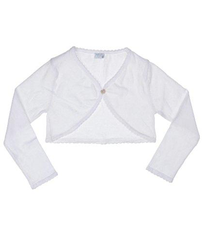 König de molinillo de pimienta König Bolero punto langärmlig (Color Blanco) Blanco...