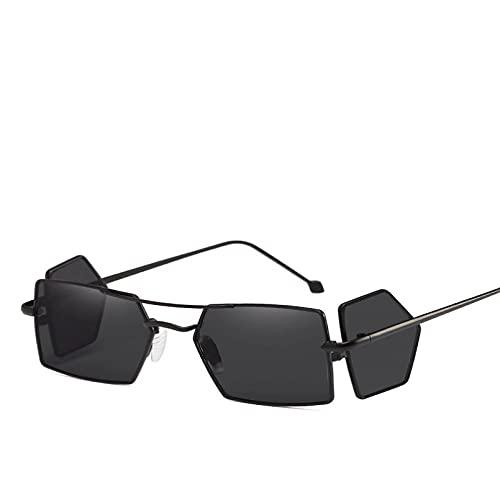 Gafas De Sol Steampunk Únicas, Gafas De Sol De Diseñador De Marca para Hombre, Gafas De Sol Cuadradas Vintage, Gafas Retro Uv400