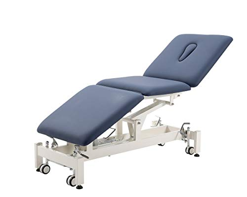 Electric Treatment Table,HomelyD Hi-Lo adjustable,3-section Physical Therapy Table, ultra...