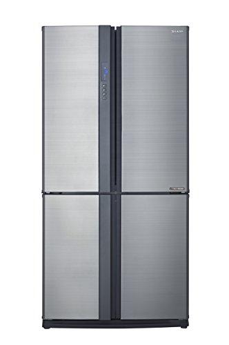 Sharp SJ-EX820FSL / Side by Side / A++ / Höhe 183 cm / Kühlteil 349 L / Gefrierteil 211 L / NoFrost / J-Tech Inverter Kompressor / manueller Eiswürfelbereiter