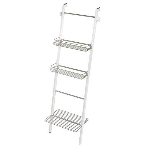 InterDesign 75313 Formbu Vrijstaande Badkamer Opslag Ladder met Planken voor Handdoeken