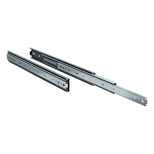 "TCH Hardware 22"" Inch Heavy Duty 250 lb Steel Drawer Slides - 3/4"