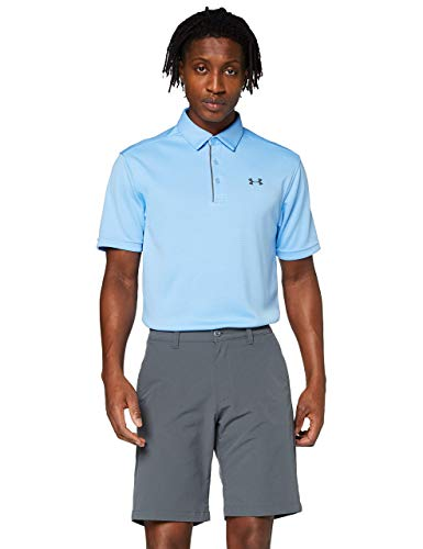 Under Armour UA Tech Short - Pantalones cortos para Hombre, Gris (Pitch Gray / Pitch Gray / Pitch Gray), 32