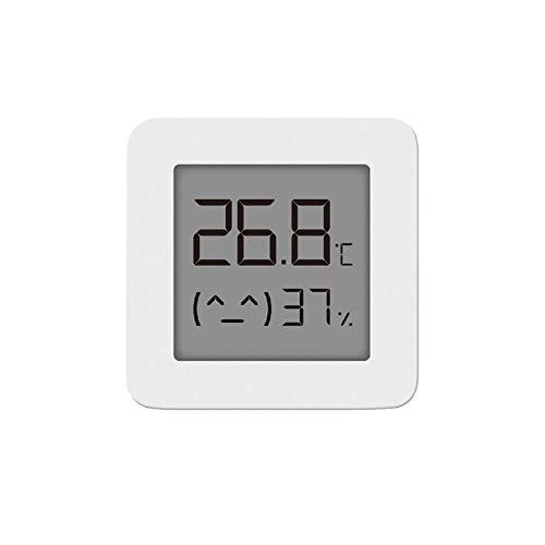 Homidy Thermo-Hygrometer Mini, Hygrometer Innen Luftfeuchtigkeitsmessgerät Innen Digitales Thermometer Hygrometer,Hochpräzise Digitalsensor von Sensirion Geeignet für Babyzimmer, Wohnzimmer,Büro,Weiß