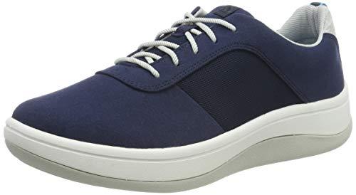 Clarks Arla Step, Zapatillas Mujer, Azul Navy Navy