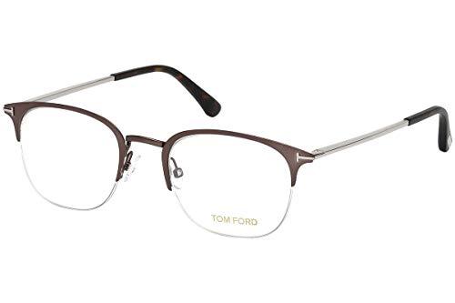 Tom Ford FT5452 Brillen 50-21-145 Dark Brown Opal Mit Demonstrationsgläsern 049 TF5452
