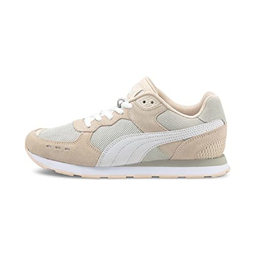 PUMA Vista Mens Sneakers in Cloud Pink/White/Grey, Size 9.5