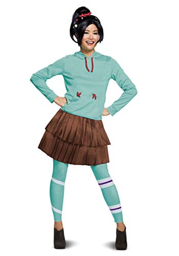 Disguise Wreck It Ralph 2 Deluxe Vanellope Women's Costume X-Small Blue
