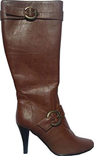 Unbekannt b.p.c Stiefel aus Leder in Cognac Gr. 39