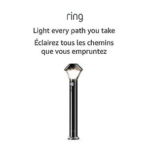 Ring Smart Lighting – Pathlight, Battery-Powered, Outdoor Motion-Sensor Security Light, Black (Ring Bridge required)