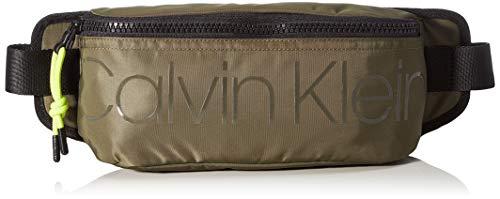 Calvin Klein Herren Trail Waistbag Taschenorganizer, Grün (Camouflage), 1x1x1 cm