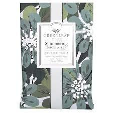 Greenleaf Shimmering Snowberry Duftsachet 115ml
