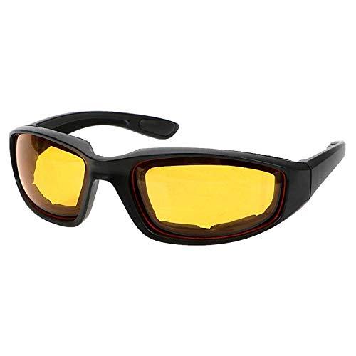 Motocross Motorradbrille Army Sonnenbrille Fahrradbrille Outdoor Sport Fahrradbrille Winddichte Brille-Gelb