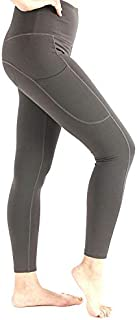 WZXSMDY Yoga Pants High Waist Hip Pants Side Pocket Fashion Running Fitness Yoga Tights