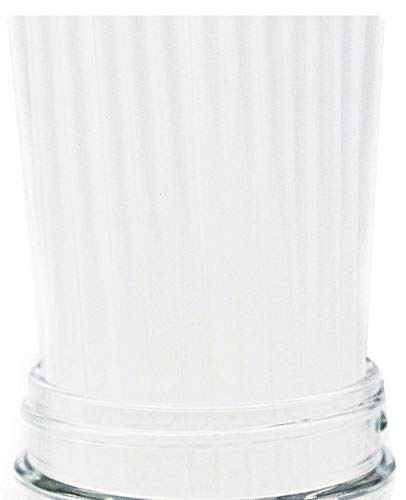 Made in USA Pack of 250 Clear Slim (7.75' X 0.21') Plastic Drinking Straws (FDA-approved, Non-toxic, BPA-free)