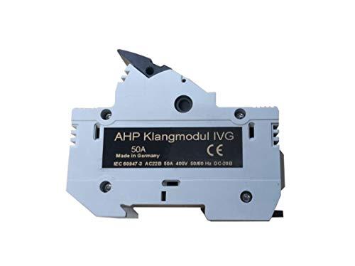 AHP Klangmodul IV G für 14x51mm Sicherungen (ohne Sicherung) bis 50 A/Ausführung: Klangmodul IV G (ohne Sicherung)