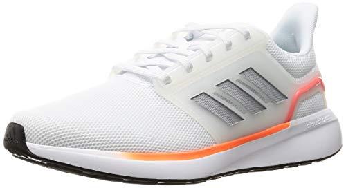 adidas EQ19 Run, Zapatillas de Running Hombre, FTWBLA/PLAHAL/Rojsol, 42 EU