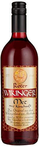Roter Wikinger Met (1 x 0,75l) - Der echte Honigwein aus dem Wikingerland Haithabu
