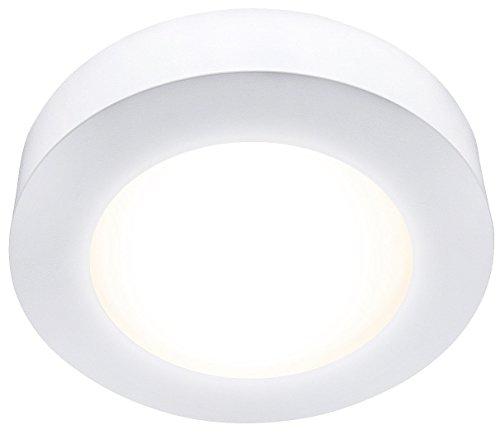 mlight un/encastrable Panneau rond LED, intensité variable Blanc chaud 11 W, 720 lm
