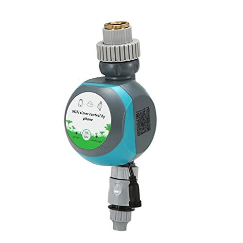 UOEIDOSB Smart WiFi Riego Temporizador de agua Controlador Teléfono Móvil Acceso remoto Acceso remoto Automático Temporizador Wireless Garden Programable