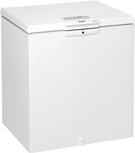 Congélateur coffre Whirlpool WH2111 - Froid statique / 204 litres / Blanc / classe A+ / Pose libre