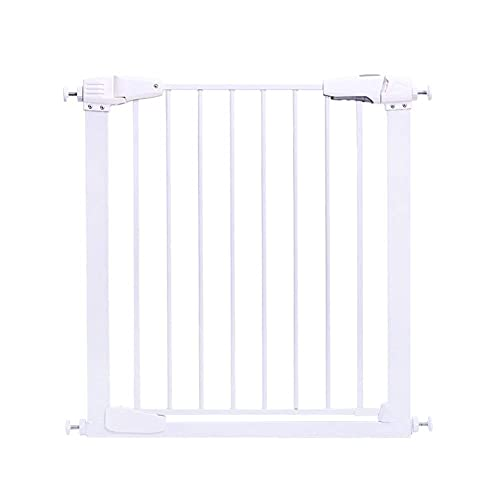 KTDT Baby Gate Escaleras Interiores Cierre automático Extra Ancho Ajuste de presión Puerta retráctil para Mascotas para Perros Gatos 107-173cm de Ancho (tamaño: 127-133cm)