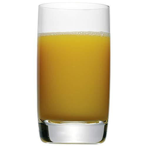 WMF Easy Saftglas 250 ml, Trink- Glas, Kristallglas, spülmaschinengeeignet, bruchsicher