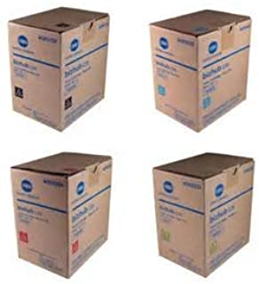 TNP49 Genuine Konica Minolta Toner Value Pack, Black, Cyan, Magenta, Yellow