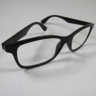 STOLZ Grote moderne leesbril zwart +3,0 kant-en-klare bril dames & heren kijkhulp