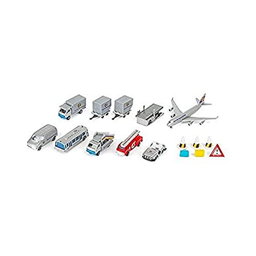 Small Foot - 8594 - Lot de 18 Voitures Miniatures - Aéroport
