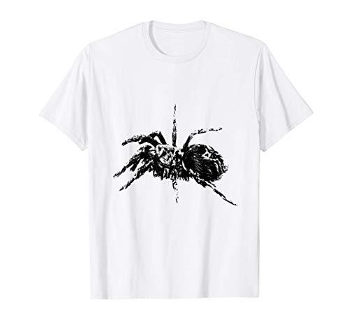 Vogelspinnen Shirt Arachnide Spinne Netz Damen Herren Kinder T-Shirt