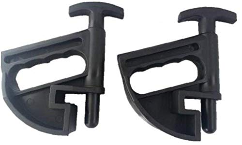 Herramienta Pinza 2pcs cambiador de neumáticos de bolas de nylon abrazadera gota Centro depresor Lamer universal palanca cambiador de neumáticos Cambio de ruedas ayudante de Altas Prestaciones