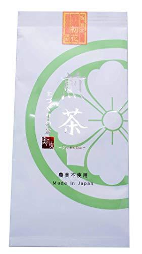 無農薬 極煎茶 福岡八女茶 80g EU残留農薬基準適合 茶葉 茶商 耀(かがやき)