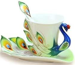 Best peacock tea cup Reviews