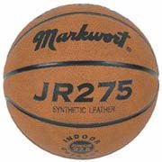 Lowest Price! Markwort Junior Size Synthetic Leather Basketball with Wide Channels from