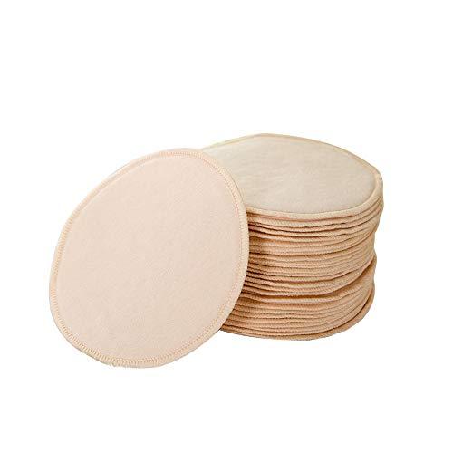 guowei0074 10 Stück Stilleinlagen Anti-Überlauf-Brustpolster Wiederverwendbar Milchpad Dünn Atmungsaktiv Waschbar Hautfreundlich stylish
