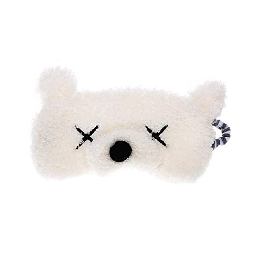 チロ寝具戸棚NOTE スーパーソフト漫画アイカバー睡眠マスクアイパッチかわいい猫クマ旅行目隠しシールド両面豪華なアイシェード睡眠昼寝エイド