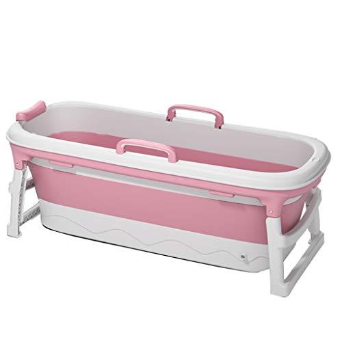 Bañera para Adultos, bañera para Piscina, bañera portátil, bañera Plegable, Plegable y fácil de almacenar, Dos Colores, Dos tamaños, cojín Gratis