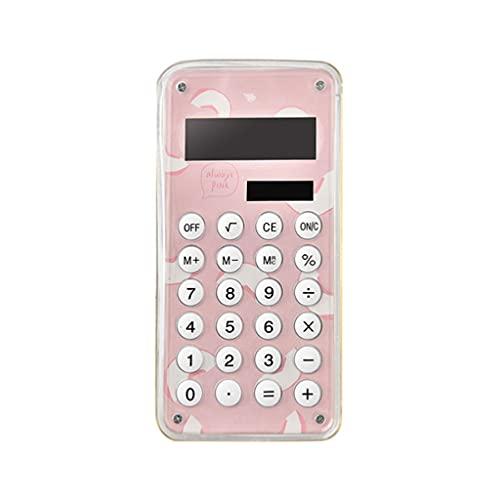 BENO Mini Calculadora Calculadora Portátil De Escritorio con Calculadora Inteligente De 8 Dígitos Tamaño De Bolsillo para La Escuela De Oficina calculadora portatil (Color : C)