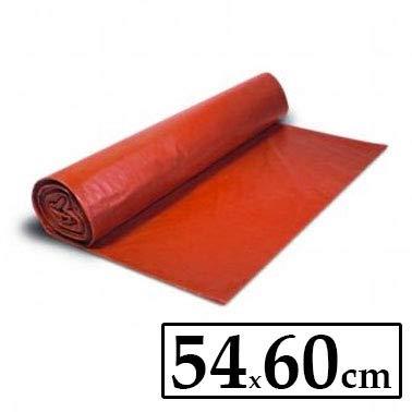 Bolsa de basura Roja 54x60cm (6 rollos, 25 ud/rollo)