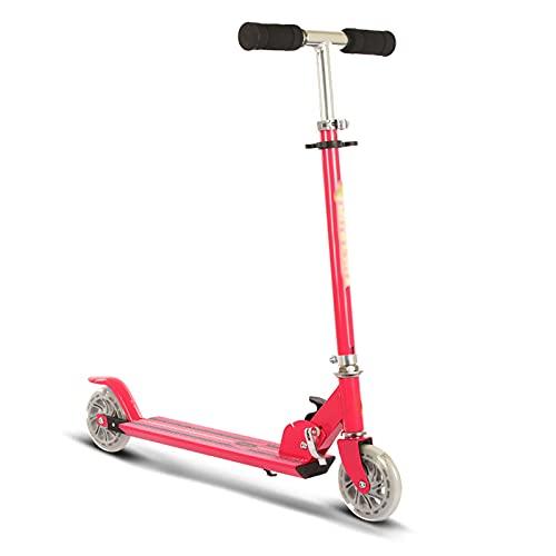 OFFA Patinete Scooters De Niños Pequeños para Niños Edad 2, Patadas Scooters para Niños 2-10 Truco Scooters Ligero De 2 Ruedas, Manillares Ajustables, Sistema De Plegado De Liberación Rápida