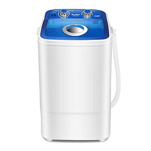 Machine à laver éGouttoir Semi-Automatique pour Lave-Linge Portable avec Tuyau De Vidange LéGer, Petite Capacité De Lavage De 3,5 Kg