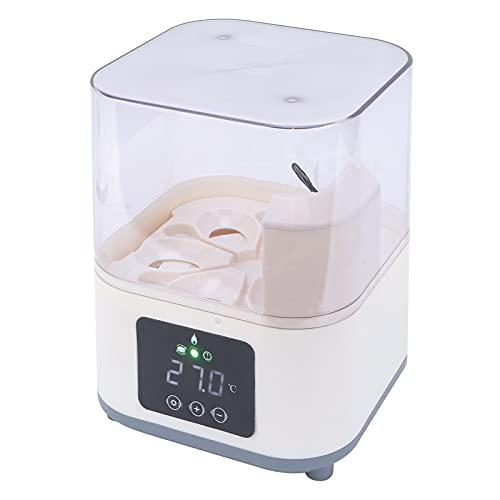 Incubadora de huevos para incubar, operación simple Incubadora doméstica inteligente de circulación térmica razonable para la cría de pollos para uso doméstico