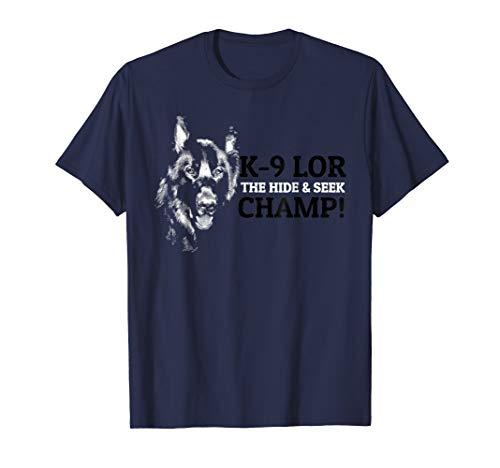 K9 LOR PD Greene County Dog Shirt